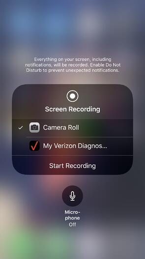 Screen Recording 3D Touch