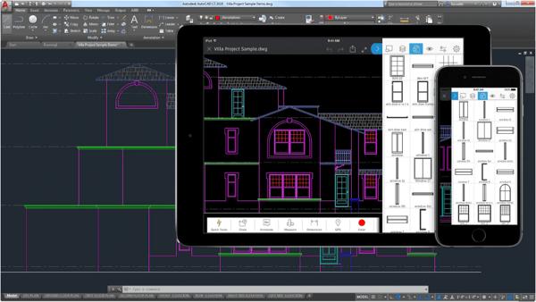 AutoCAD LT floor plan software