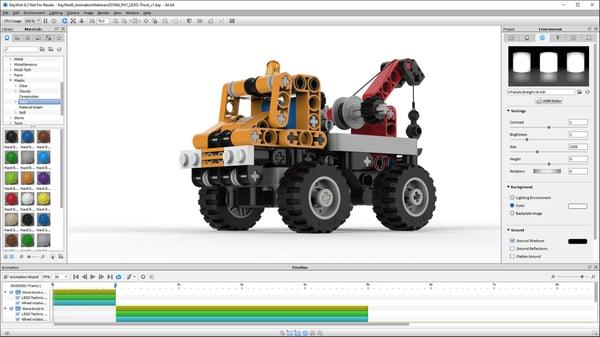 keyshot best free animation software