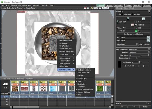 opentoonz best free animation software