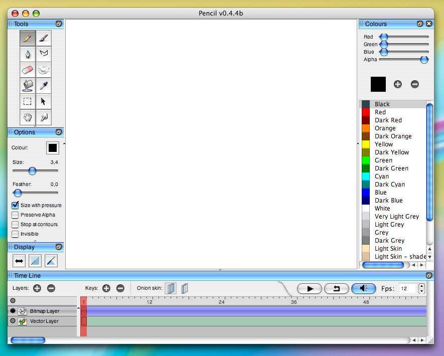 pencil2d best free animation software