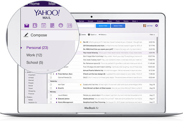 yahoo mail best free email software