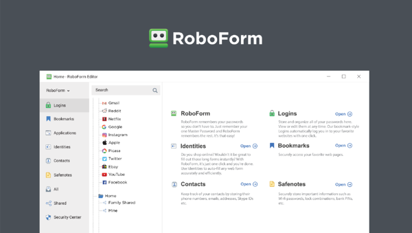 roboform best free password manager