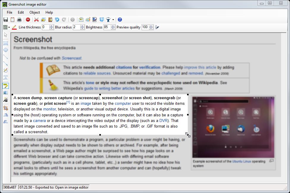 greenshot best free screen capture software