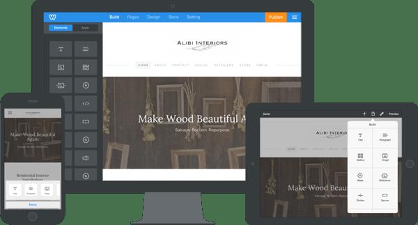 weebly best free website builder software