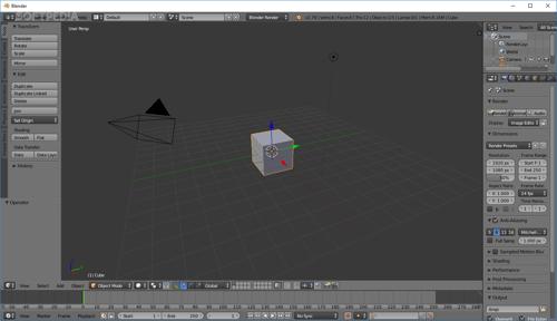 Blender-free-3d-modeling-software