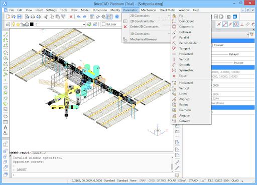 BricsCAD-free-3d-modeling-software