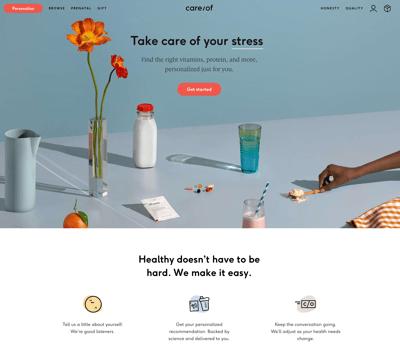 Care of website