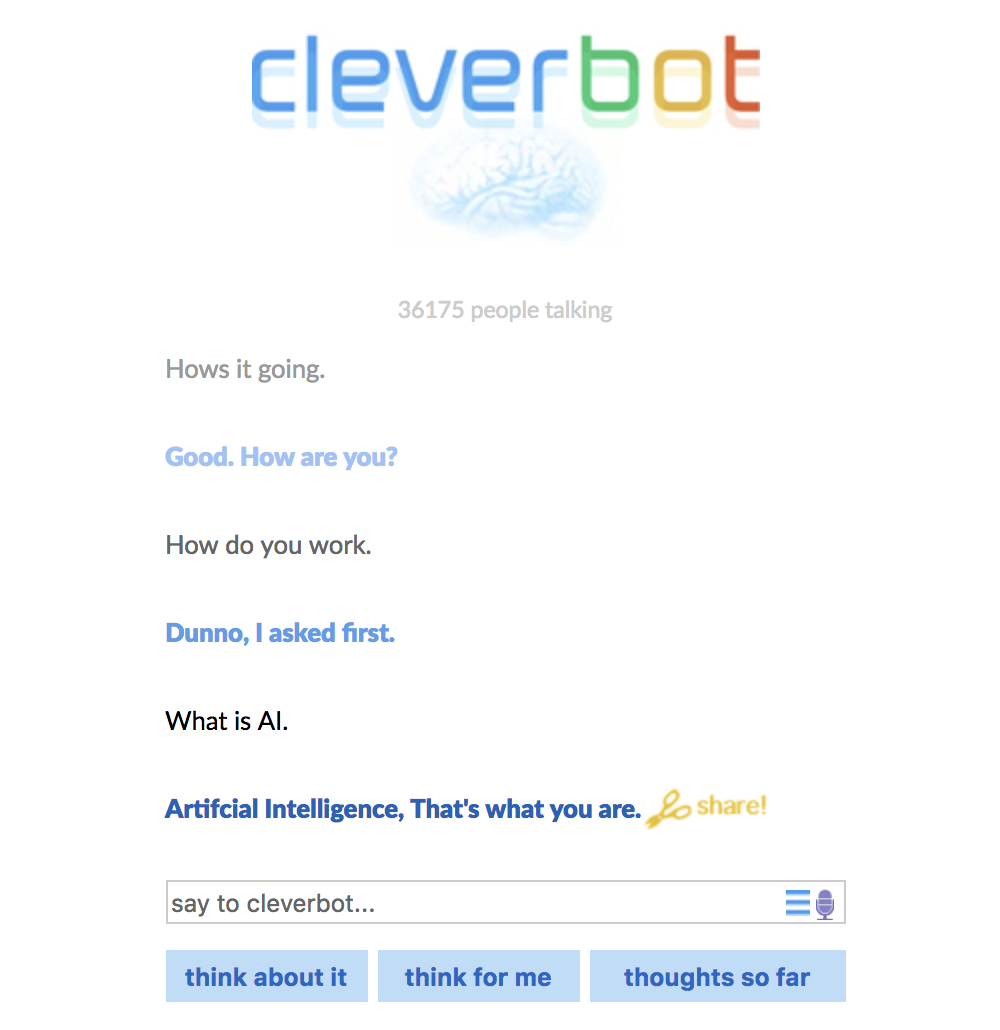 Cleverbot-chatbot