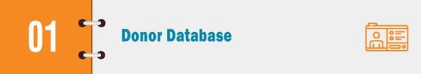donor database