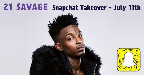 influencer takeover Snapchat
