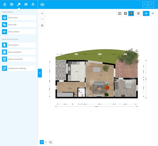 Floorplanner floor plan software