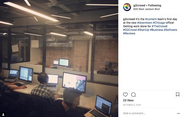G2 Crowd Instagram