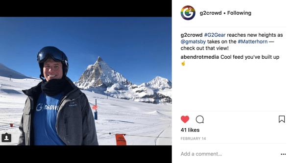 G2 Gear Instagram