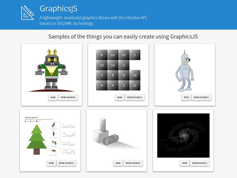GraphicsJS-vector-graphics
