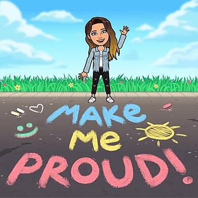Make me proud Bitmoji