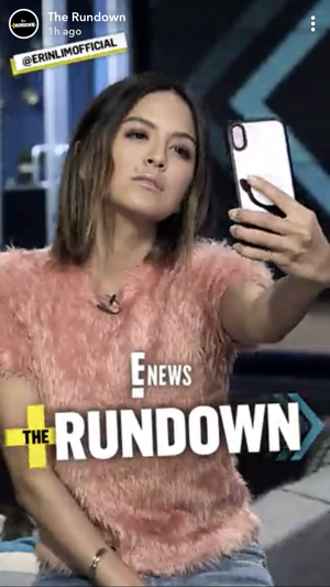 ENews SNapchat Rundown