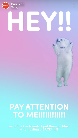 Buzzfeed Snapchat