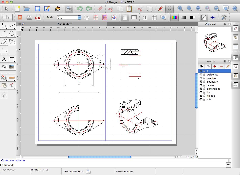 QCAD-Free-CAD-Tools