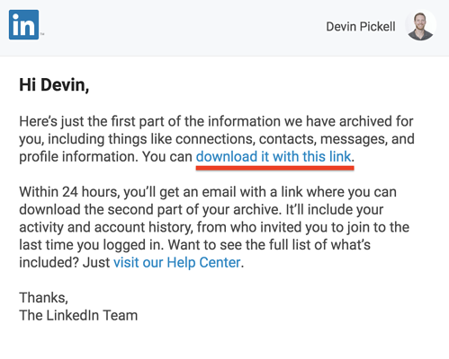 Linkedin-data-email