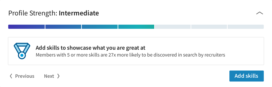 Linkedin-gamification