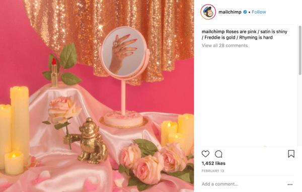 Compelling B2B software instagram