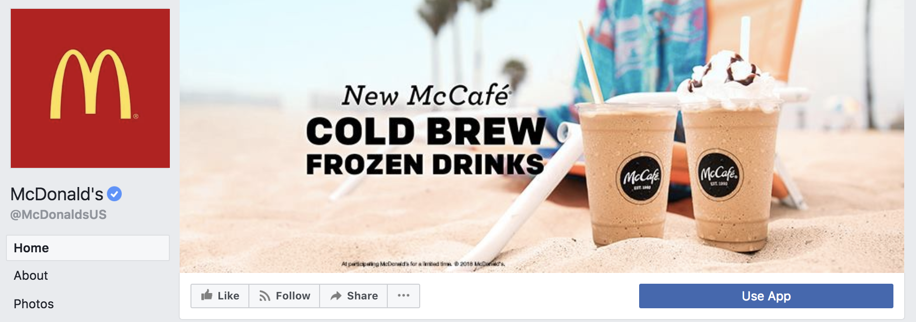 McDonald's cover photo