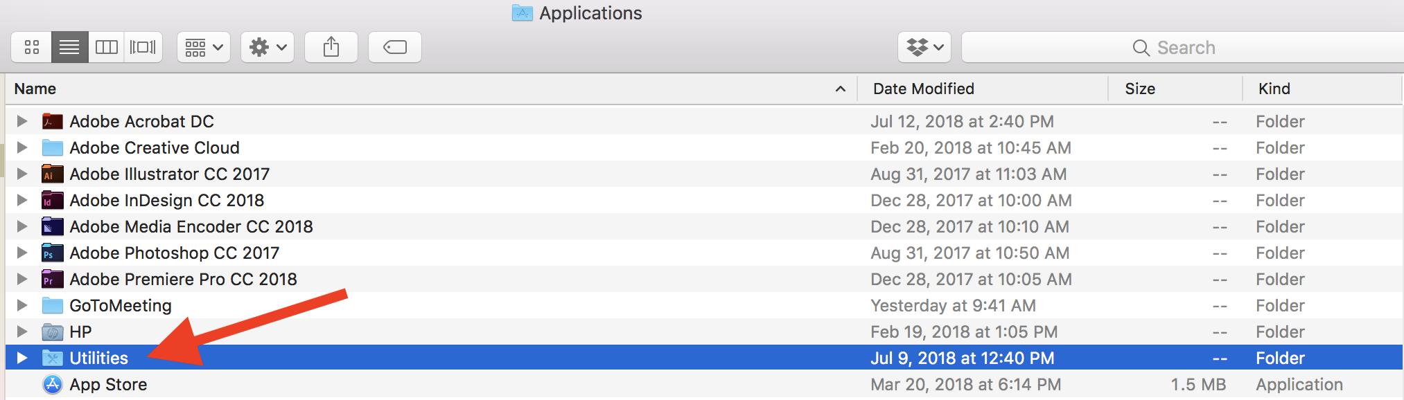 find-utilities-folder-on-a-mac