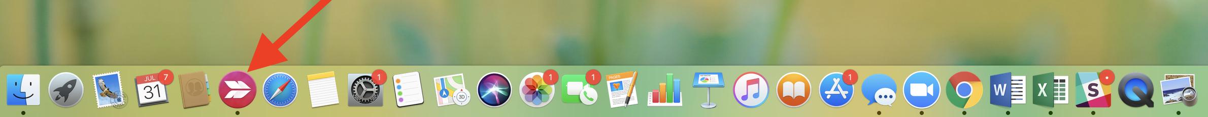 skitch icon mac toolbar