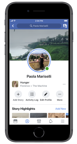 Music-on-Facebook-profile