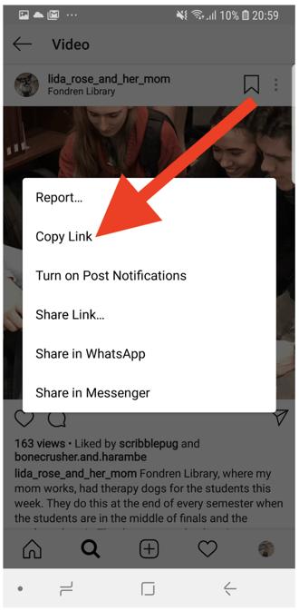 copy-instagram-video-link