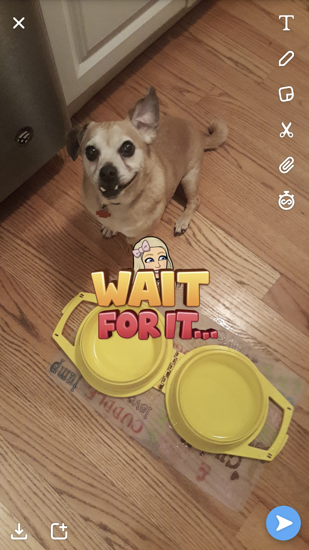 add-snapchat-sticker