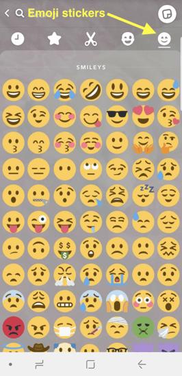 emoji-snapchat-stickers