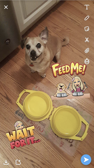 use-multiple-snapchat-stickers
