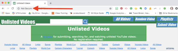unlisted-videos