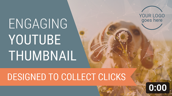 You Thumbnail Template With Color Text And Image
