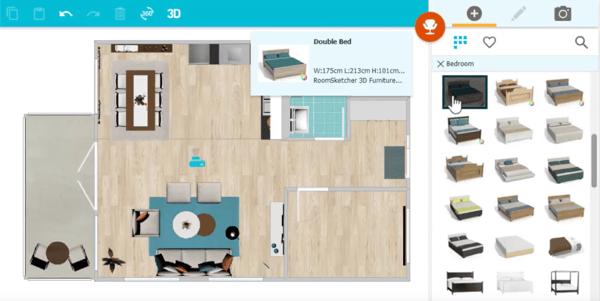 RoomSketcher Home Designer floor plan software