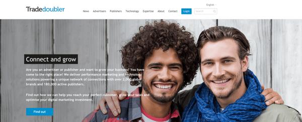 Tradedoubler affiliate marketing