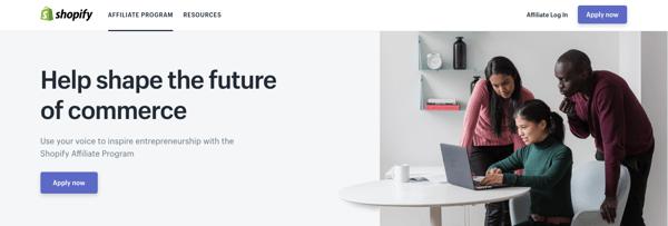 Shopify affiliate marketing
