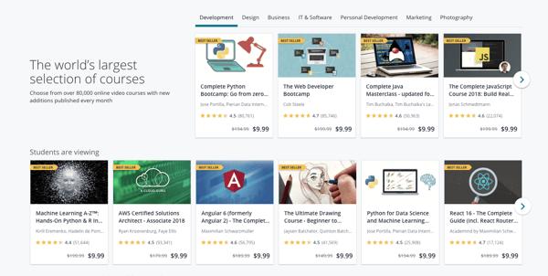 Udemy affiliate marketing academy