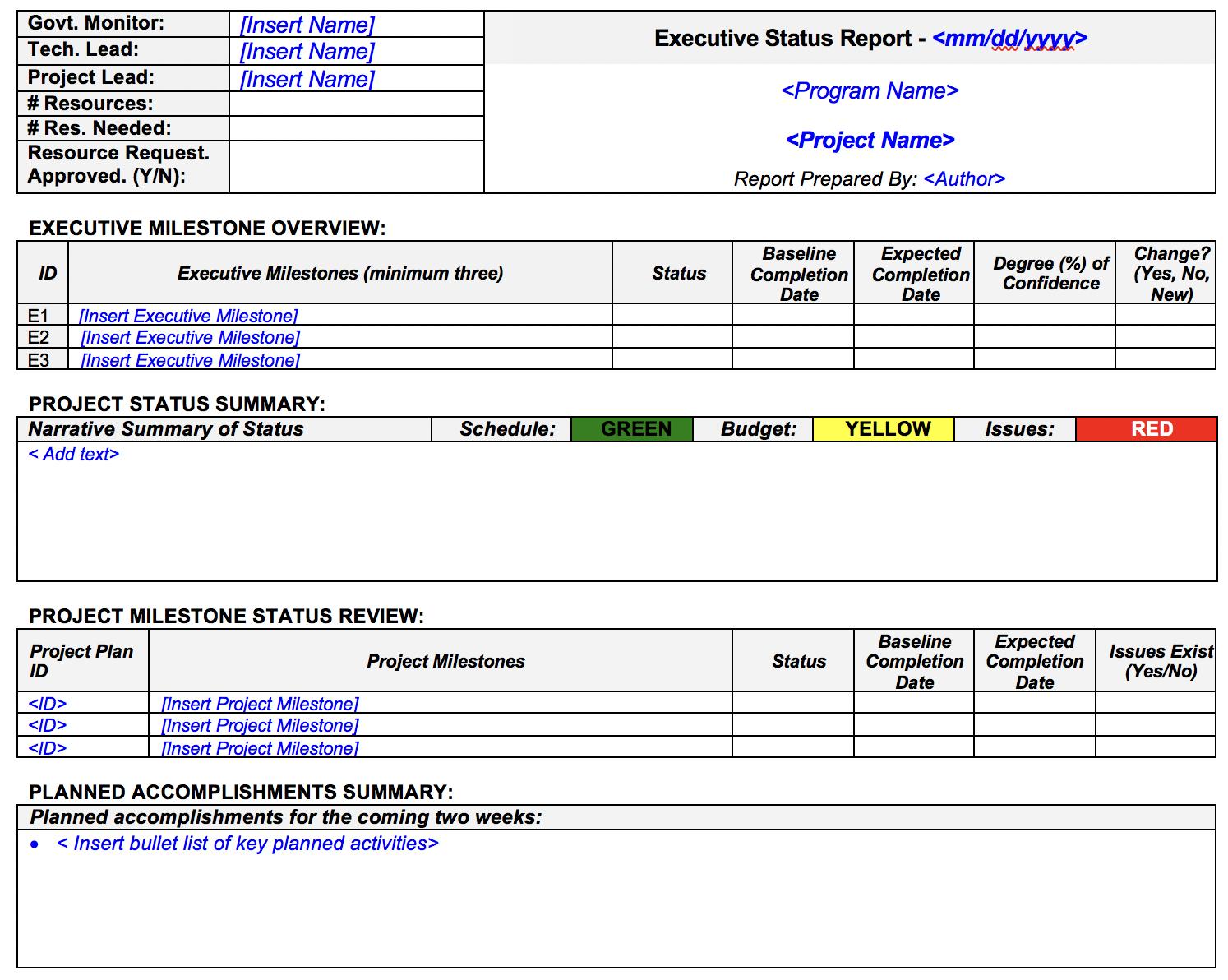 project-status-template-creative-template-cdc