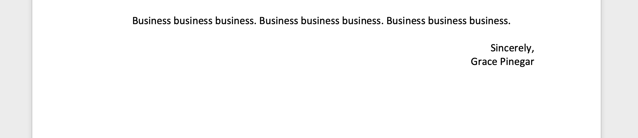 what is business format