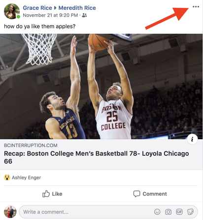 facebook-report-a-problem