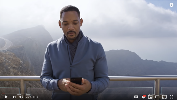 youtube rewind 2018 will smith video