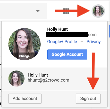 how-to-change-default-google-account