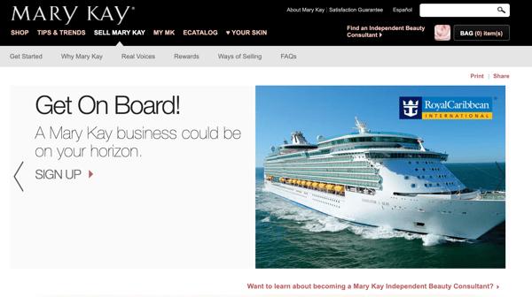 Mary Kay network marketing
