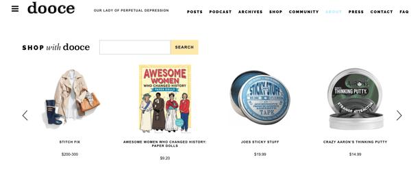 affiliate marketing website example