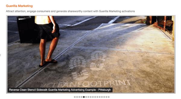 Alt Terrain Guerrilla Marketing