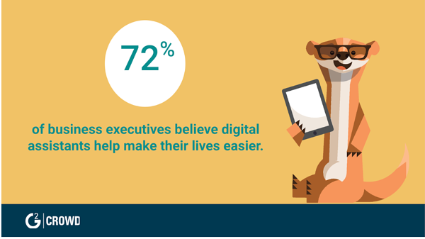 Business executives love virtual assistants