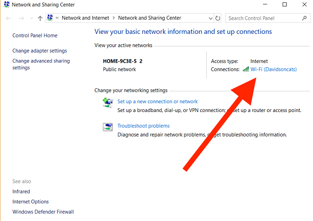 networking windows 10 and mac